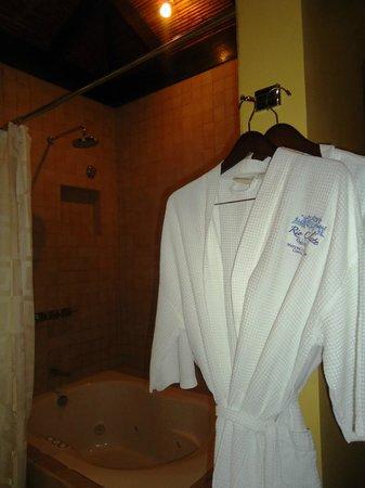 Rio Celeste Hideaway Hotel: inside shower