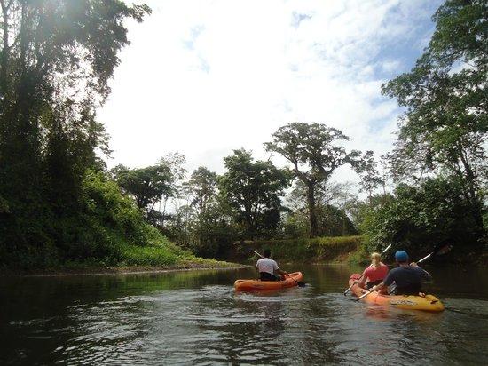 Rio Celeste Hideaway Hotel: Kayaking trip