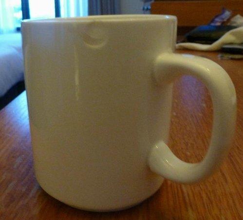 Mantra on Jolimont: Chipped mug