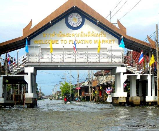 ibis Styles Bangkok Khaosan Viengtai : Floating Markets  - 2013
