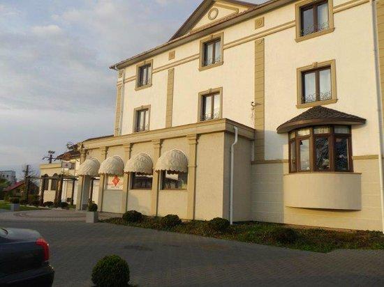Hotel Sonnenhof: Eingang zum Restaurant