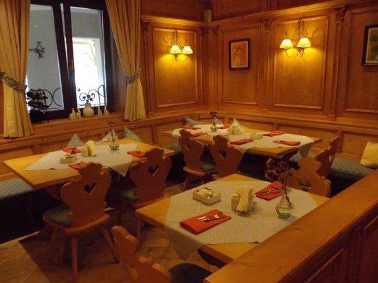 Hotel Sonnenhof: ...im Speisesaal...