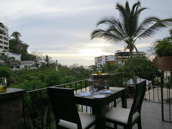 Taste Restaurant at Casa Cupula : View out to the water