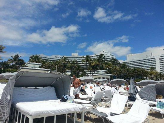 Fontainebleau Miami Beach : praia
