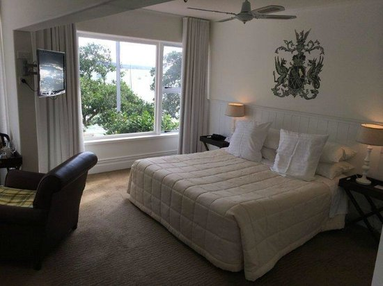 Duke of Marlborough Hotel: Seaview room