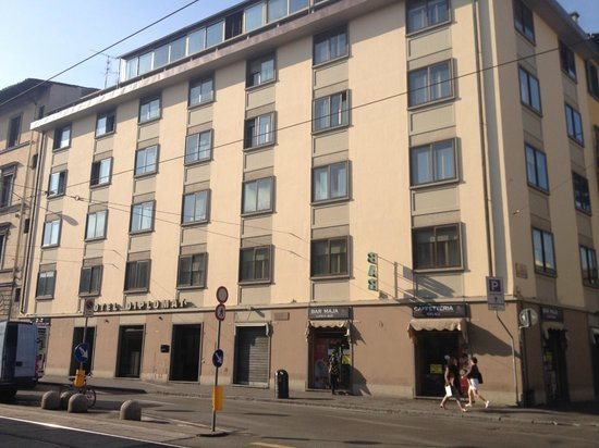 Hotel Diplomat: 外観