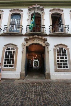 Casa dos Contos: fachada