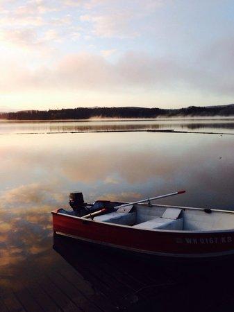 Silver Lake Resort : Silverlake at sunrise- stunning!