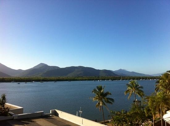 Cairns Luxury Apartments - Harbourlights complex: view from our room