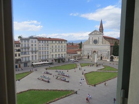 Santa Maria Novella Hotel: view from our top floor suite