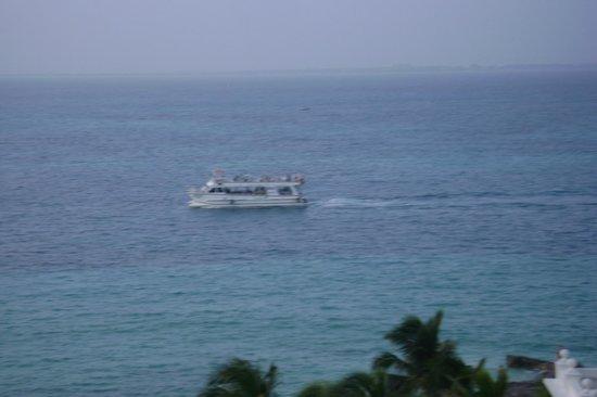 Hotel Riu Palace Las Americas : A leisurely boat ride!