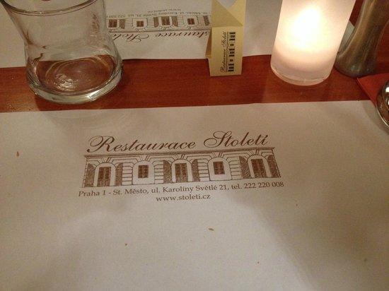 Restaurace Stoleti : Matt
