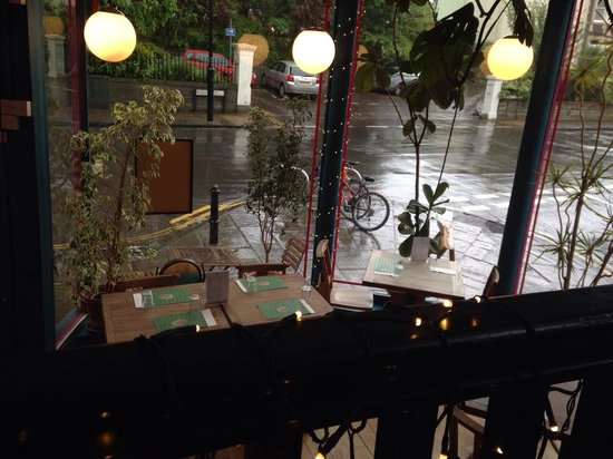 Thali Cafe Clifton: From the top level