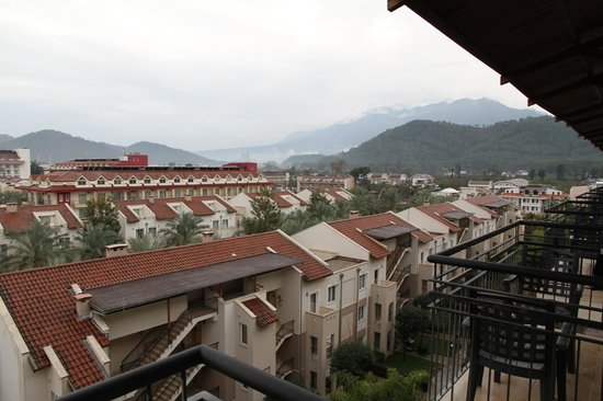 Alkoclar Exclusive Kemer: View from the balcony
