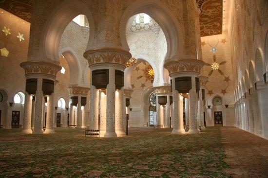 Mezquita Sheikh Zayed: The interior
