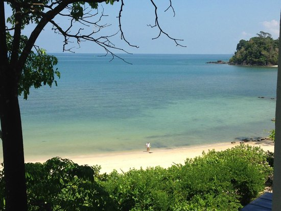 The Andaman, A Luxury Collection Resort: view of Datai Bay