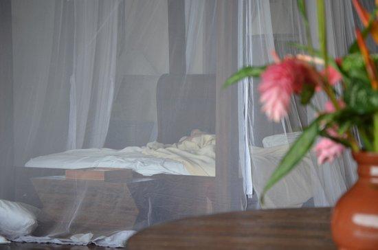 Jade Mountain Resort : bed