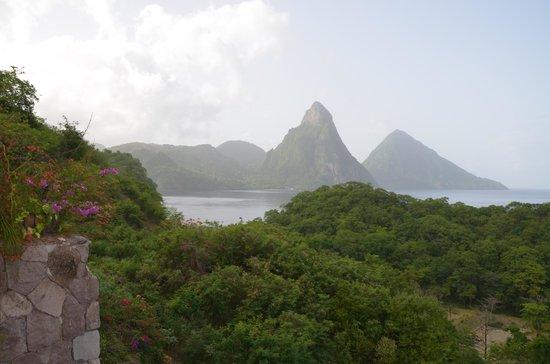 Jade Mountain Resort: view