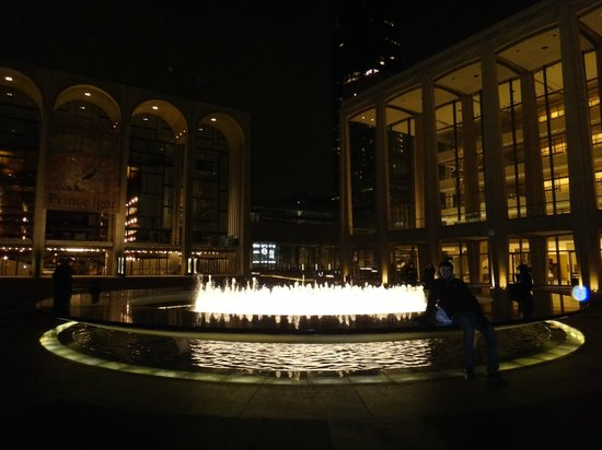 Lincoln Center for the Performing Arts: Lincoln Center.
