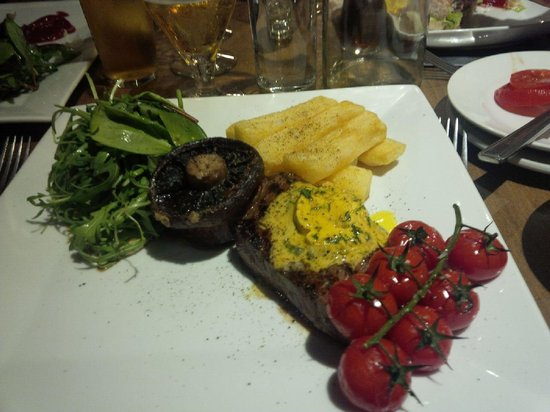 The Perch and Pike: Steak