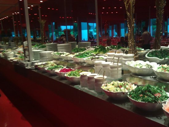 Hotel SU: Buffet de salade