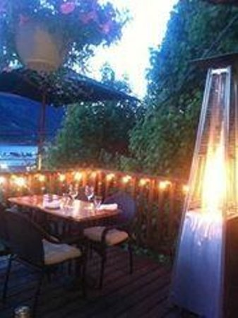 Sage Tapas and Wine Bar: Best deck in town