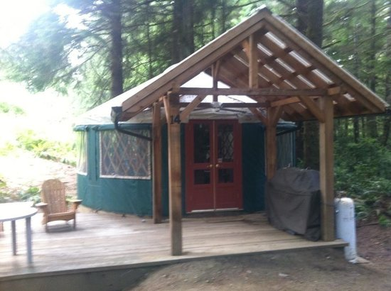 Wya Point Resort : Yurt 14
