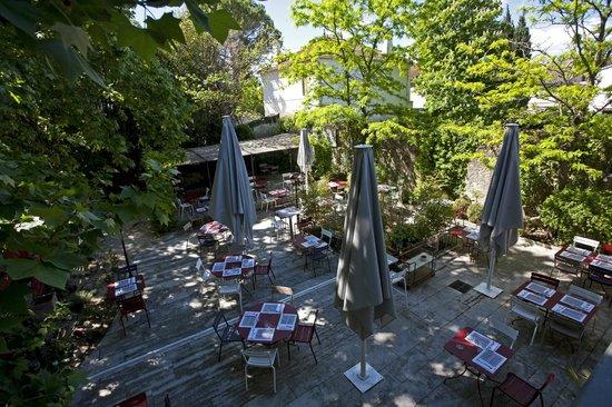 L'Estagnol : Le jardin