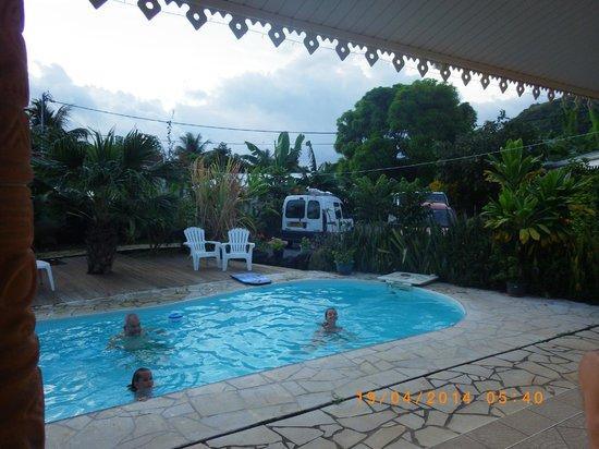 Relais Fenua: piscine