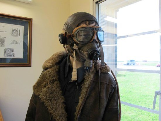 RAF Scampton Heritage Centre: A dummy, not the one I mentioned in the text