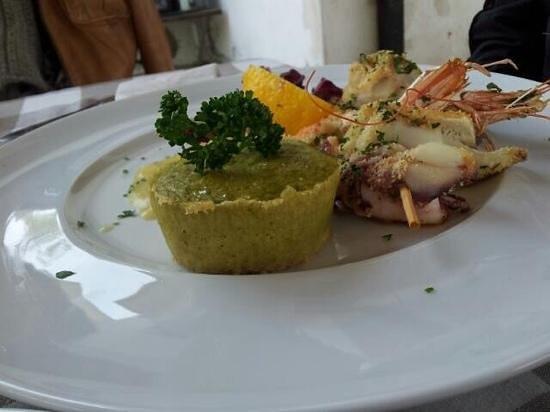 Pirolino: menù di mare
