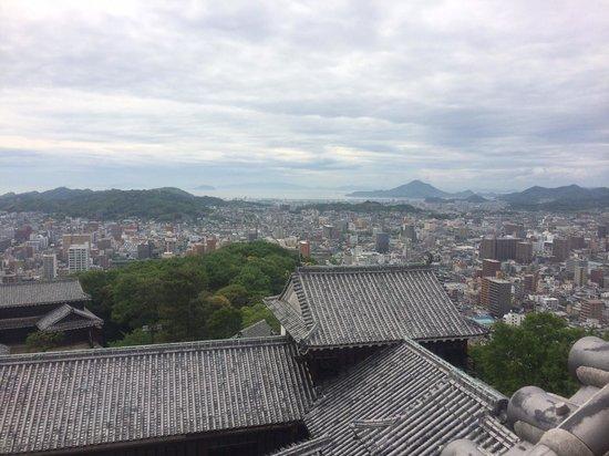 Matsuyama Castle : 天守からの眺め