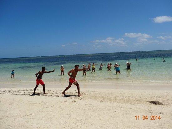 Catalonia Bavaro Beach, Casino & Golf Resort: the best water aerobics...