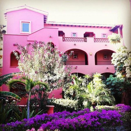 Sheraton Grand Los Cabos Hacienda del Mar : Beautiful colours abound