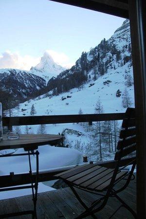 Suitenhotel Zurbriggen : Million dollar view