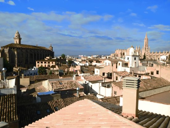 Palma Suites: View from Rooftop Terrace