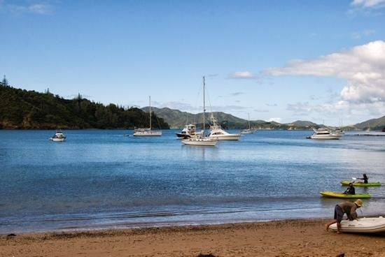 Allegra House: sailing in Bay of Islands
