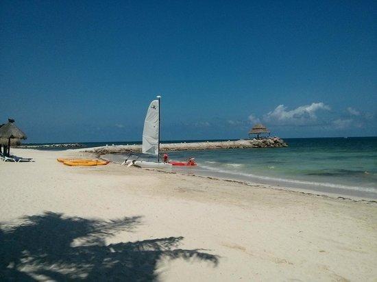 Hotel Marina El Cid Spa & Beach Resort: The included sailing and kayaking activities