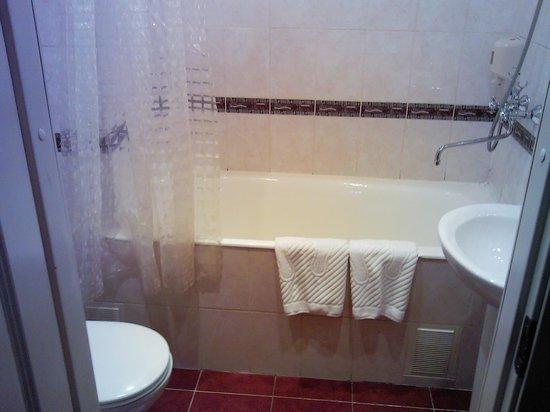 Tourist Hotel St Petersburg: Ванная комната