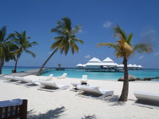Diamonds Thudufushi : plage