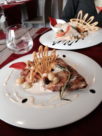 Le Carre Restaurant : Les plats