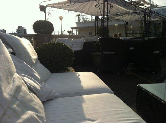 Hotel Italia Palace: Terasse