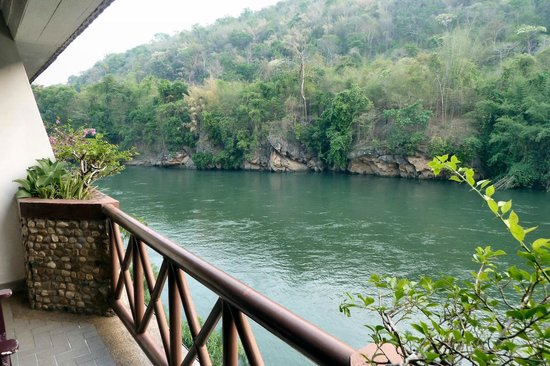 River Kwai Bridge Resort : From our balcony