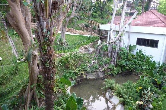 River Kwai Bridge Resort : Pleasant grounds