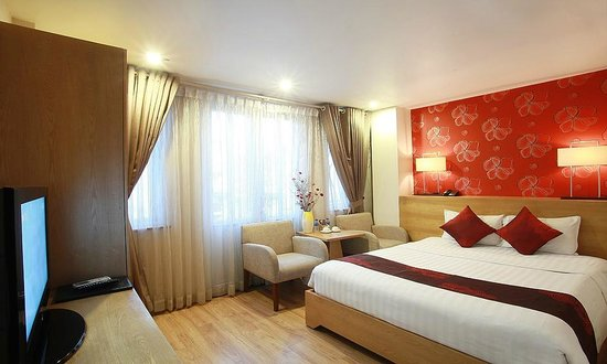 Hanoi A1 Hotel: Deluxe room with balcony