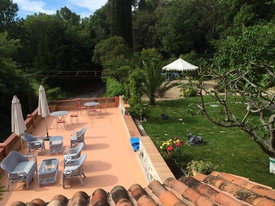 Bastide Valmasque: Terrazza