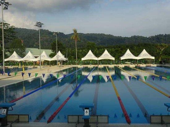 Thanyapura Health & Sports Resort: สระมาตรฐานโอลิมปิค 50 เมตร