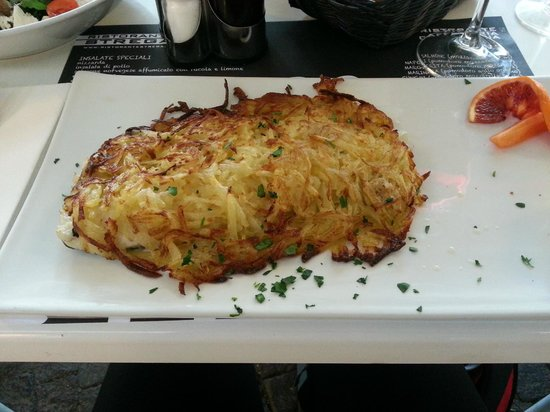Ristorante Strega: Рыба под картофельной шубкой
