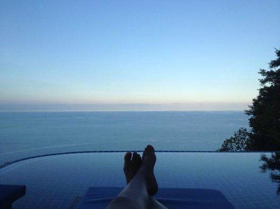 Sandalwood Luxury Villas: pool view