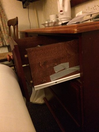 Norbreck Castle Hotel: Broken draw